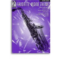FAVORITE MOVIE THEMES SAXO ALTO