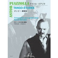 PIAZZOLLA A. TANGO-ETUDES GUITARE SOLO