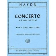 HAYDN J. CONCERTO DO MAJEUR HOB. VII N°1 VIOLONCELLE