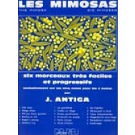 ANTIGA J. LES MIMOSAS PIANO
