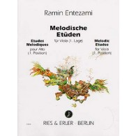 ENTEZAMI R. MELODISCHE ETUDEN VOL 2 VIOLON