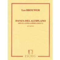BROUWER L. DANZA DEL ALTIPLANO GUITARE