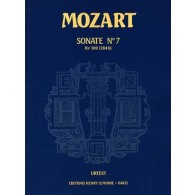 MOZART W.A. SONATE N°7 K 309 PIANO