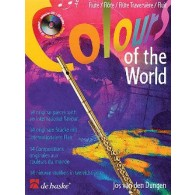 DUNGEN J.V.D. COLOURS OF THE WORLD FLUTE