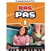 KASTELEIN J. PAS A PAS VOL 1 ACCOMPAGNEMENT PIANO