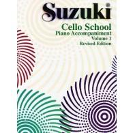 SUZUKI CELLO SCHOOL VOL 1 ACCOMPAGNEMENT PIANO