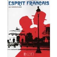 ESPRIT FRANCAIS POUR CLARINETTE