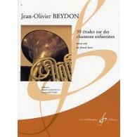BEYDON J.O. 30 ETUDES SUR DES CHANSONS ENFANTINES COR
