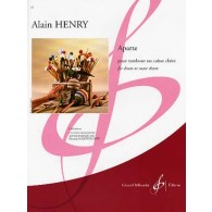 HENRY A. APARTE TAMBOUR POUR CAISSE CLAIRE
