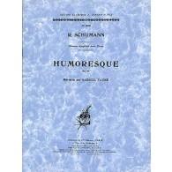 SCHUMANN R. HUMORESQUE OP 20 PIANO