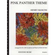 HENRY MANCINI THE PINK PANTHER SAXOPHONE ALTO OU TENOR