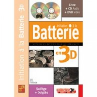 THIEVON E. INITIATION A LA BATTERIE EN 3D
