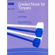 WRIGHT I. GRADED MUSIC FOR TIMPANI VOL 4
