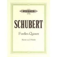 SCHUBERT F. FORELLEN QUINTETT PIANO