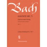 BACH J.S. CANTATE BWV 71 CHOEUR