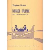 BOZZA E. FANTAISIE ITALIENNE CLARINETTE