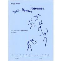 BAUDO S. TROIS DANSES PAIENNES PERCUSSION