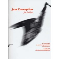 SNIDERO J. JAZZ CONCEPTION 21 SOLO ETUDES SAXO ALTO OU BARYTON
