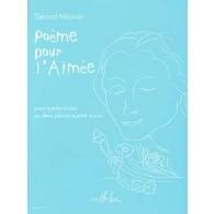 MEUNIER G. POEME POUR L'AIMEE PIANO 4 MAINS