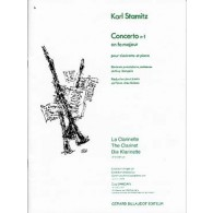STAMITZ K. CONCERTO N°1 CLARINETTE