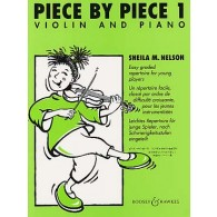 NELSON S. PIECE BY PIECE VOL 1 VIOLON