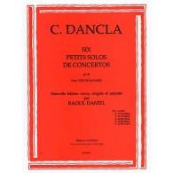 DANCLA C. PETIT SOLO DE CONCERTO OP 141 N°2 VIOLON
