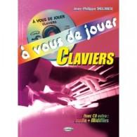 DELRIEU J.P. A VOUS DE JOUER CLAVIERS