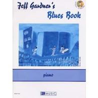 GARDNER J. BLUES BOOK PIANO