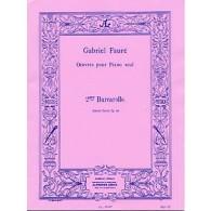 FAURE G. BARCAROLLE OP 41 N°2 PIANO