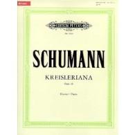 SCHUMANN R. KREISLERIANA OP 16 PIANO