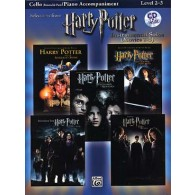 POTTER HARRY SELECTIONS INSTRUMENTAL SOLOS MOVIES 1-5 CELLO