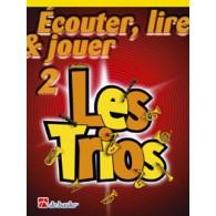 ECOUTER LIRE JOUER LES TRIOS VOL 2 FLUTES