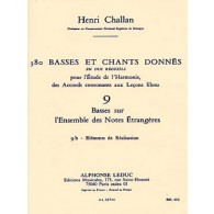 CHALLAN H. 380 BASSES ET CHANTS DONNES VOL 09B