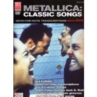METALLICA: CLASSIC SONGS DRUM VOCAL