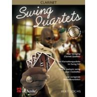 LOCHS B. SWING QUARTETS 4 CLARINETTES