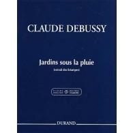 DEBUSSY C. JARDINS SOUS LA PLUIE PIANO