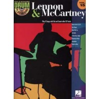 DRUM PLAY-ALONG VOL 15 LENNON J./ MC CARTNEY