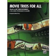 MOVIE TRIOS FOR ALL CLARINETTES