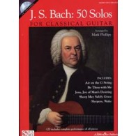 BACH J.S. 50 SOLOS FOR CLASSICAL GUITAR