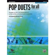 STORY M. POP DUETS FOR ALL SAXOS BB
