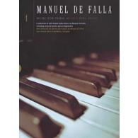 DE FALLA M. MUSIC FOR PIANO VOL 1