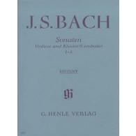 BACH J.S. SONATES 1 - 3 VIOLON