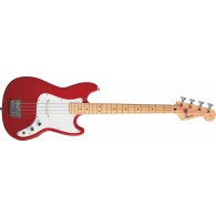SQUIER BRONCO BASS TORINO RED MAPLE