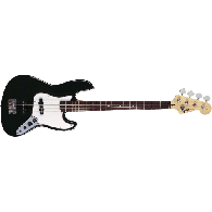 SQUIER AFFINITY JAZZ BASS BLACK ROSEWOOD