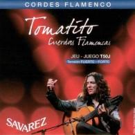 JEU DE CORDES GUITARE FLAMENCO SAVAREZ TOMATITO T50J
