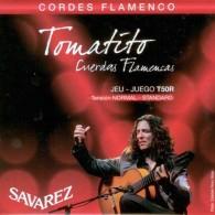 JEU DE CORDES GUITARE FLAMENCO SAVAREZ TOMATITO T50R