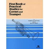 GETCHELL R.W. FIRST BOOK OF PRATICAL STUDIES TROMPETTE