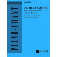 MESSAGER A. J'AI DEUX AMANTS PIANO