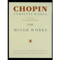 CHOPIN F. MINOR WORKS PIANO