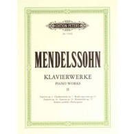 MENDELSSOHN F. OEUVRES COMPLETES VOL 2 PIANO